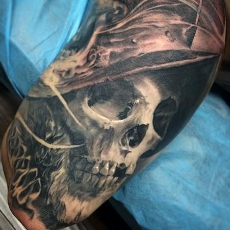 Tattoos - Skull Tattoo - 92219