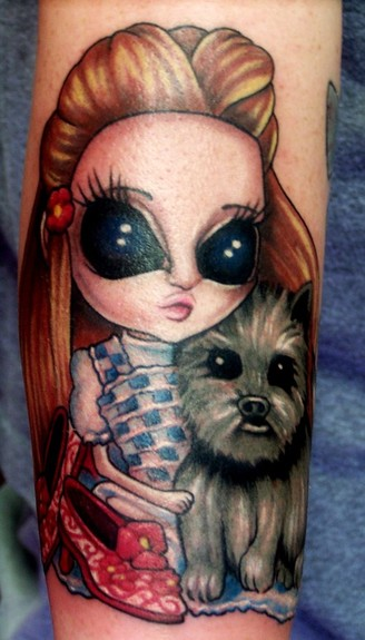 Tattoos - A 'Misty Benson' version of Dorothy from Oz - 50265