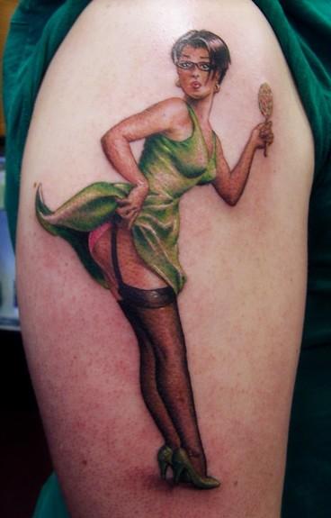 Tattoos - Pinup - 50273