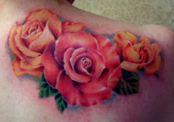 Tattoos - Roses - 50232