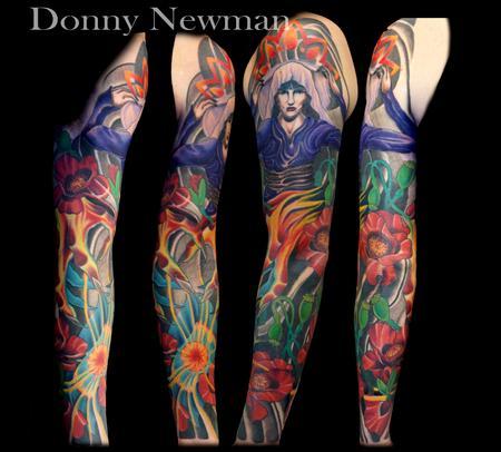Tattoos - Custom sleeve by Donny - 124990