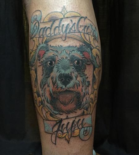 Tattoos - Dog - 126719