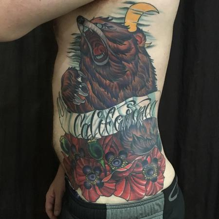 Tattoos - Bear Cover Up - 124831