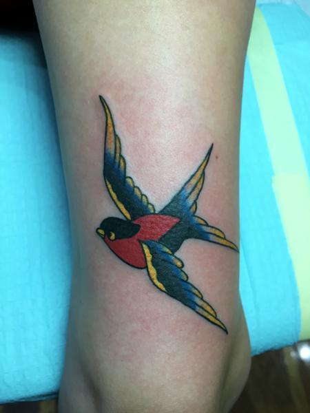 Tattoos - Swallow - 126709