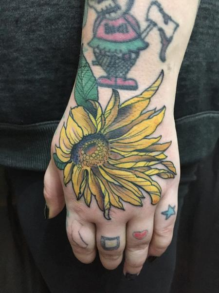 Tattoos - Sun Flower - 126700