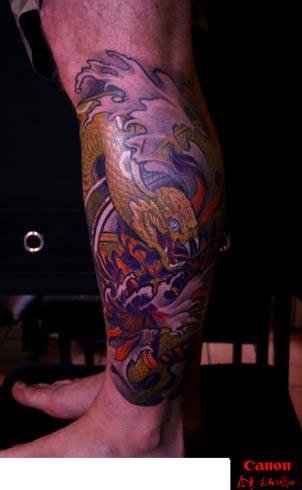 Tattoos - Snake Tattoo - 31866