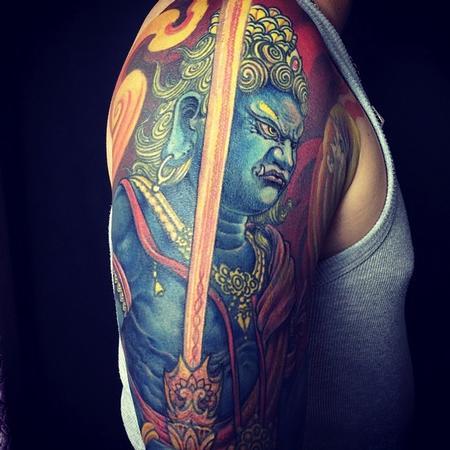 Yang Zhuo - Fudo Tattoo