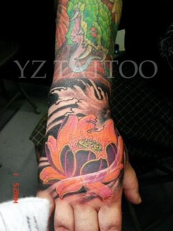 Tattoos - Lotus - 42637