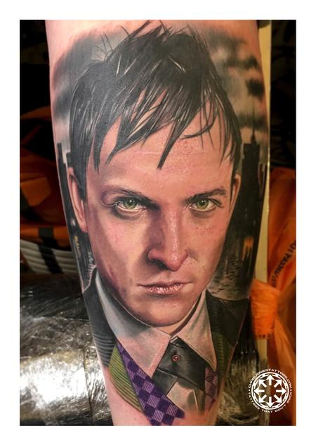 Tattoos - Color portrait of Penguin from Gotham - 122224