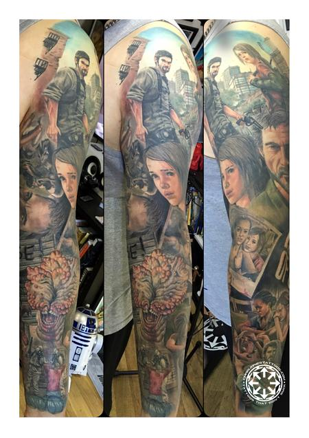 Tattoos - Last of Us sleeve - 122225