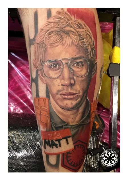 Tattoos - Color portrait of Matt the Radar Technician - 122221