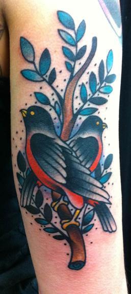 Tattoos - Traditional bird tattoo - 53287