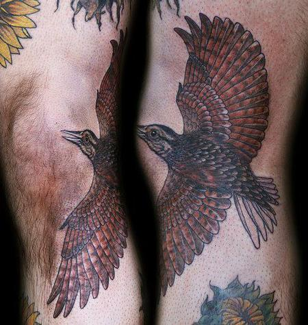 Christel Perkins - Flying Bird Tattoo