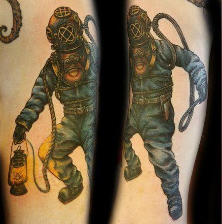 Christel Perkins - Diver Tattoo