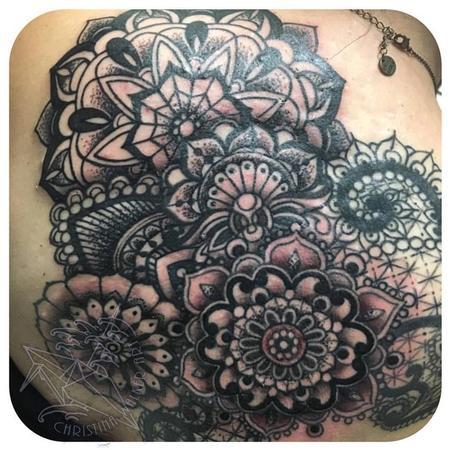 Christina Walker - Ornate Mandala Backpiece
