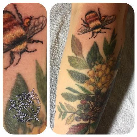 Christina Walker - Bee and Oregon grapes