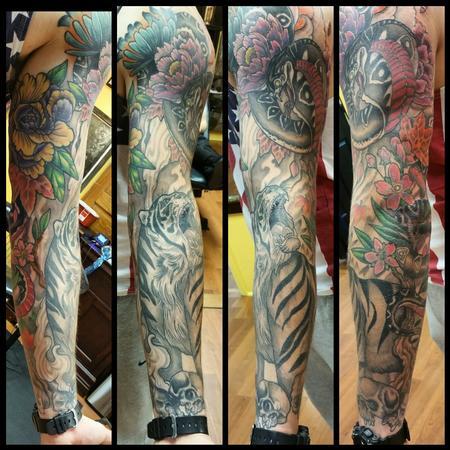 Tattoos - Tage and cobra sleeve - 103882