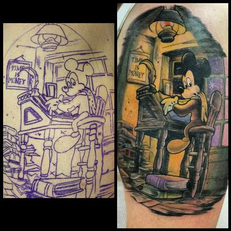 Tattoos - micky mouse - 103878