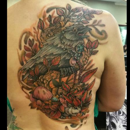 Tattoos - The crow thief and the mouse - 104710