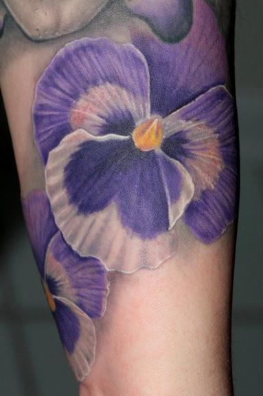 Tattoos - Flower Tattoo - 54180