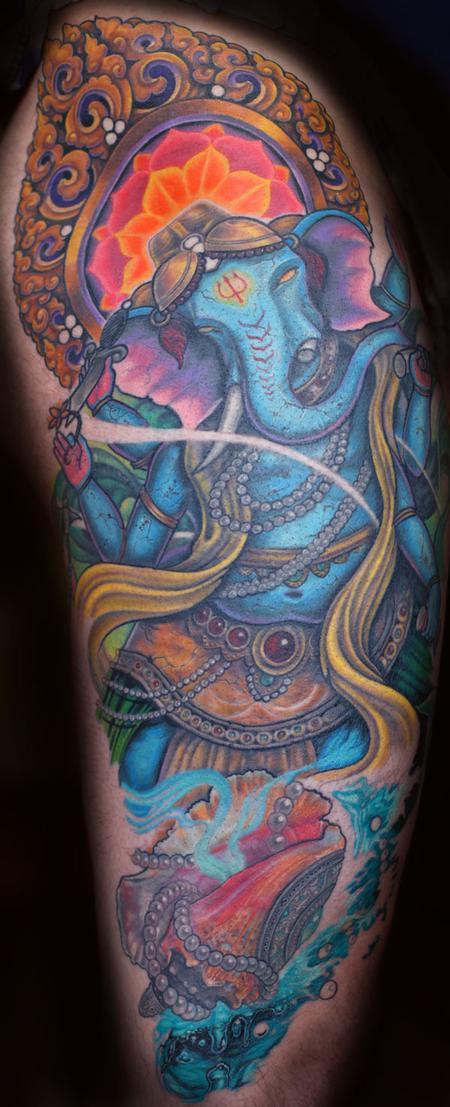 Tattoos - Genesh - 89662