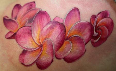 Tattoos - flowers - 56638