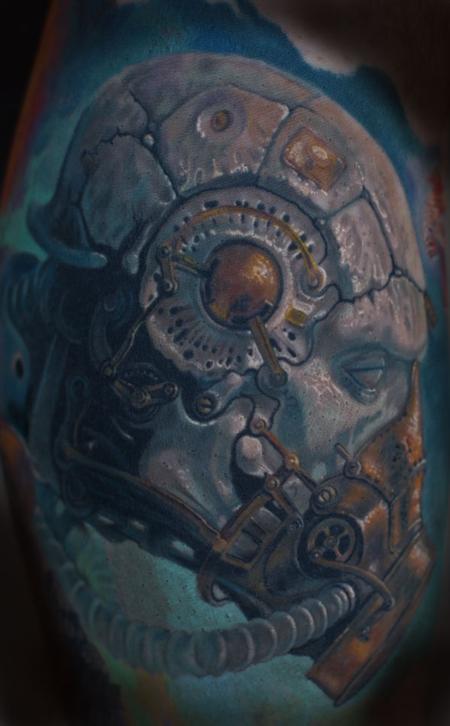 Tattoos - Skullguy - 89508