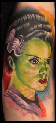 Tattoos - Frankenstein Monster's Bride - 28346