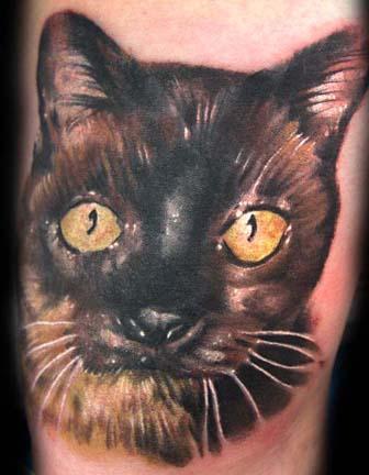 Tattoos - Cat Tattoo - 26998