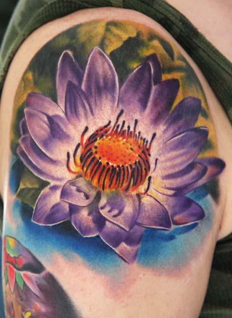 Tattoos - Lotus Tattoo - 26995