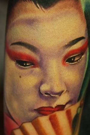 Tattoos - geisha - 46399