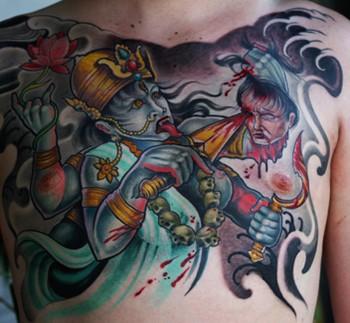 Tattoos - kali - 46400