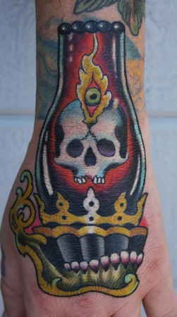 Tattoos - hurricane lamp - 48904