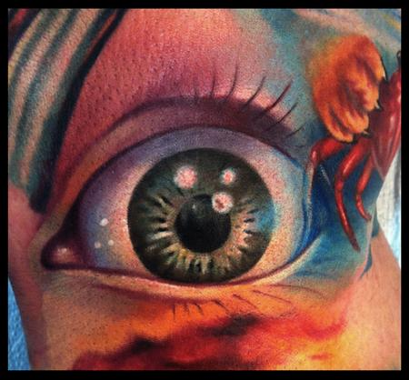 Tattoos - color eyeball - 64507