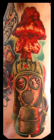 Tattoos - Nuclear war - 35525