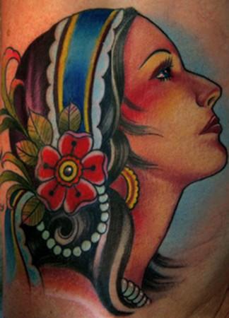 Tattoos - gypsy - 46396