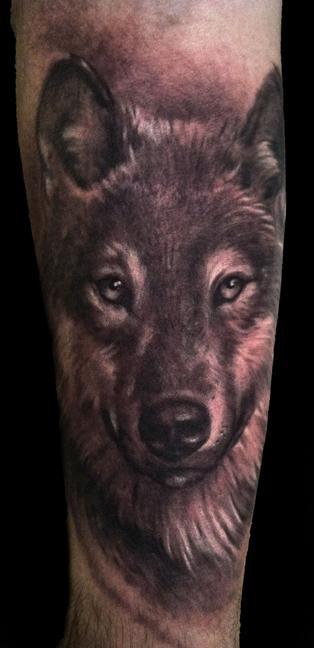 Tattoos - wolf - 64502