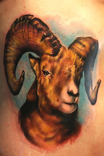 Tattoos - Ram Tattoo - 26994