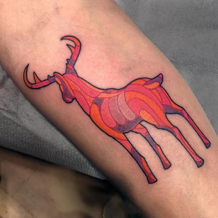 Tattoos - Psychedelic Deer - 119089