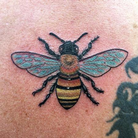 Tattoos - Honey Bee  - 117406