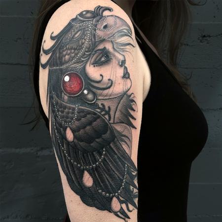 Tattoos - Phoenix Goddess - 122807