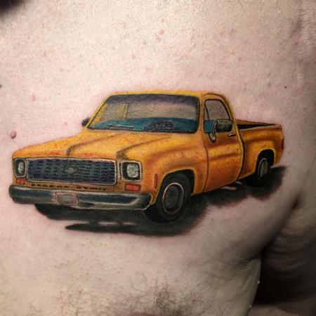Tattoos - 72 Chevy stepside - 127590
