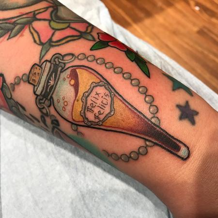Tattoos - Harry Potter Felix Felicis  - 128384