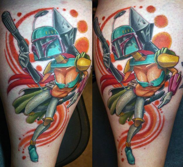 Tattoos - booba fett - 53806