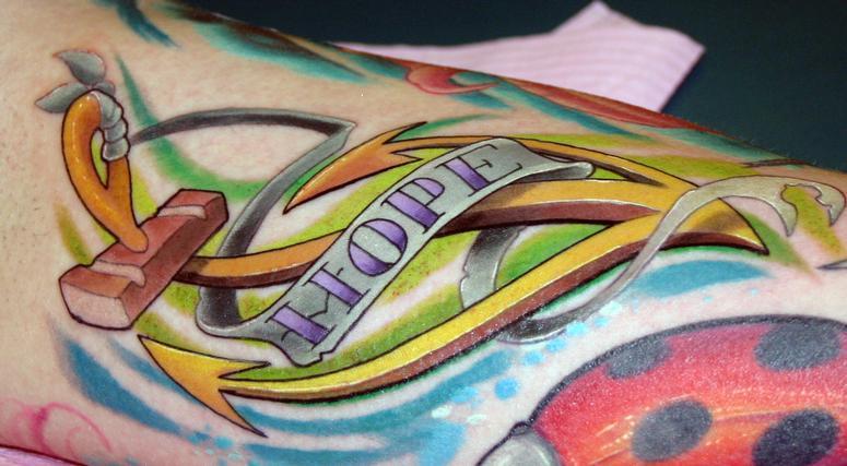 Tattoos - hope - 53809