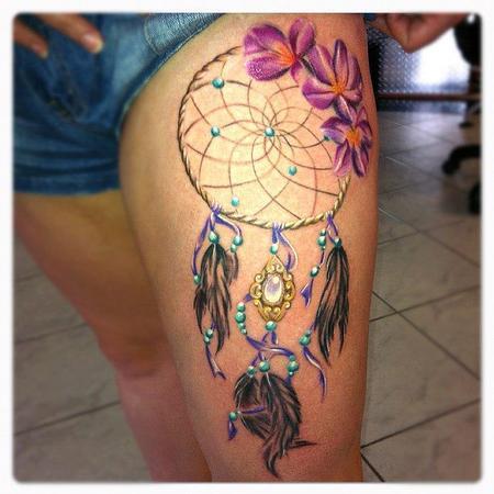 Tattoos - dreamcatcher - 71832