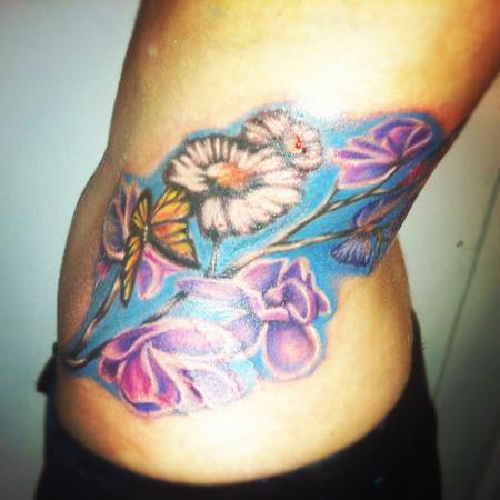Tattoos - Flowers - 71834