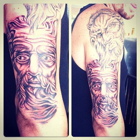 Tattoos - God Sleeve - 71823