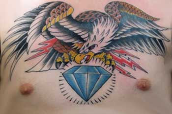 Tattoos - Diamond Eagle - 31673