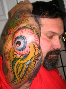 Tattoos - Flying Eye - 31675